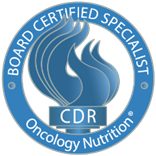 CDR Board Certified Specialist Oncology Nutrition